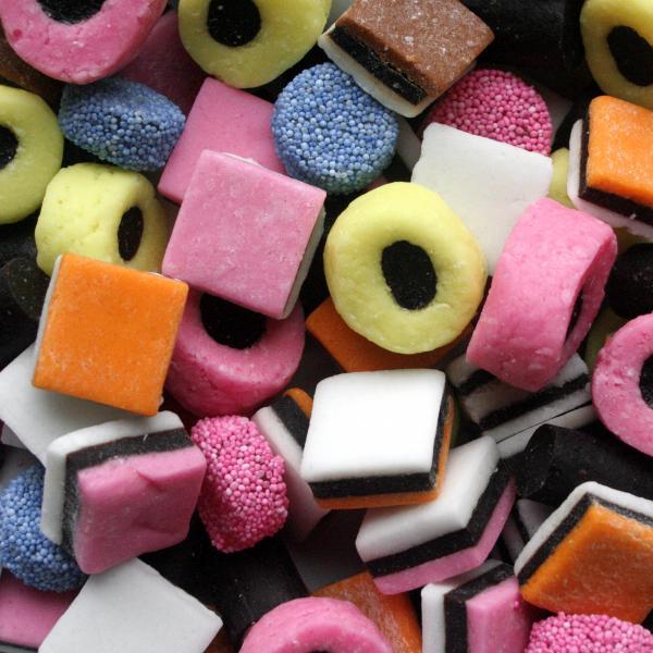 Engelse Keuken Maten : Black Licorice Candy